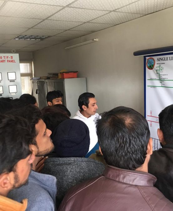 Visit to Wapda Town (NTDC 220 KVA Grid Station)