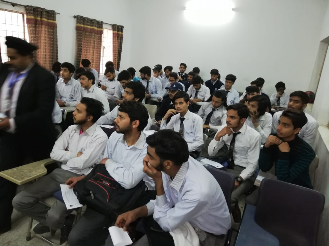 Visit to Central College Ichhra, Lahore