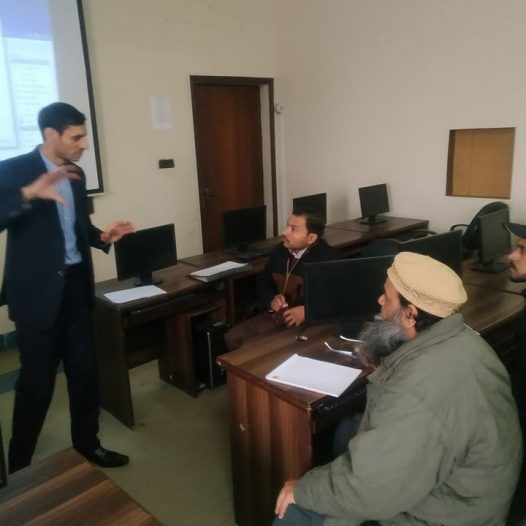 Training session of software Maintenance and Installation held at SCET