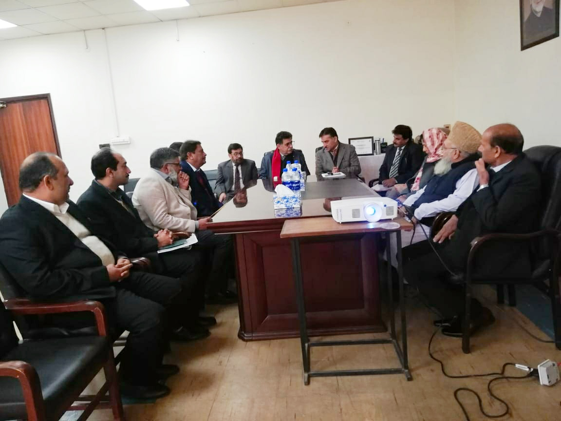 UET affiliation team visit at SCET 2019