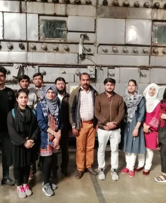 Visit to Kohinoor Mills (Pvt.) Ltd