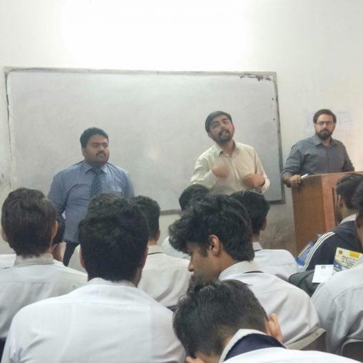 Visit to Central College Ichhra Lahore
