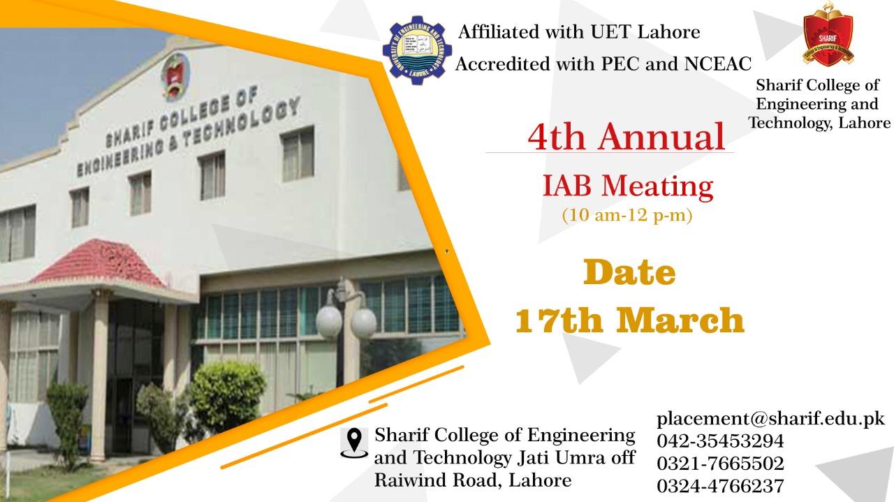 4th Annual IAB Meeting