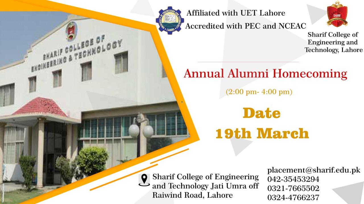 Annual Alumni Homecoming