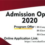 Admission Open 2020-Onward