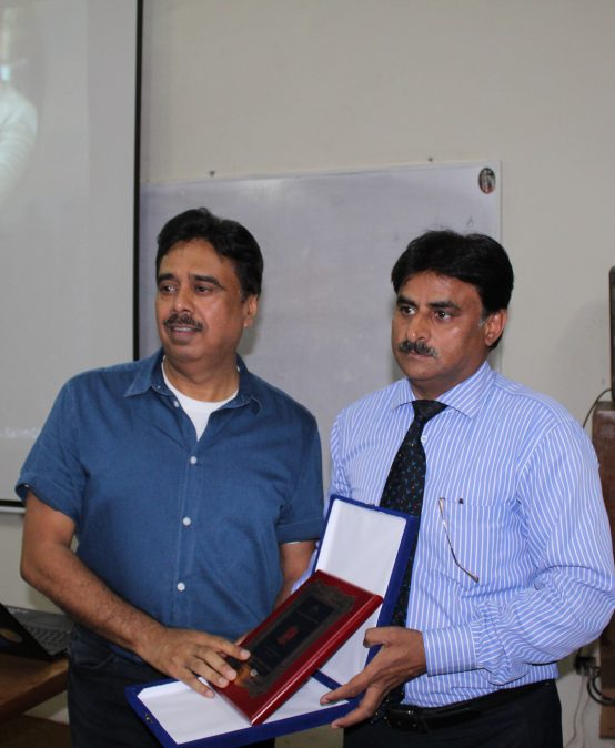 Visit of Mr. Salim Ghauri at Sharif College of Engineering and Technology