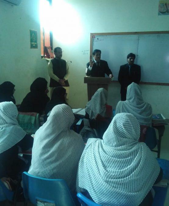 SCET introductory session Aspire College Vehari (Girls Campus)