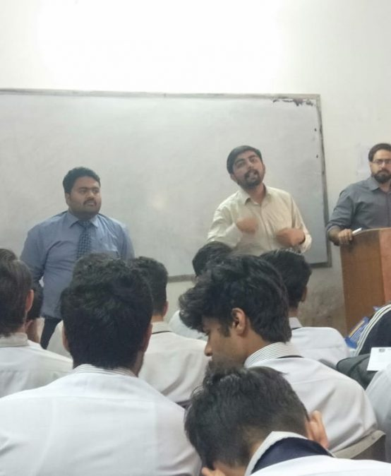 Visit to Central College Ichhra Lahore
