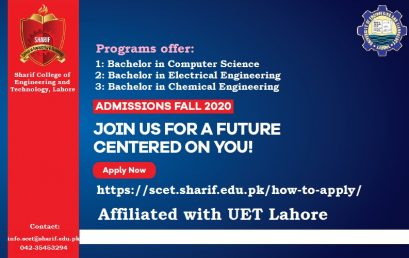 Admission Open 2020